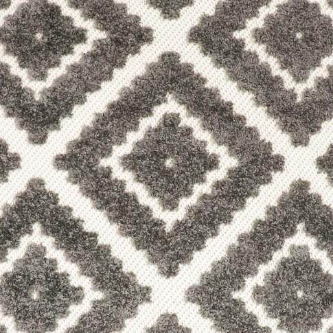 Covor living / dormitor Oriental Weavers Zenda E 524/PJ7, poliolefina, dreptunghiular, gri, 160 x 235 cm