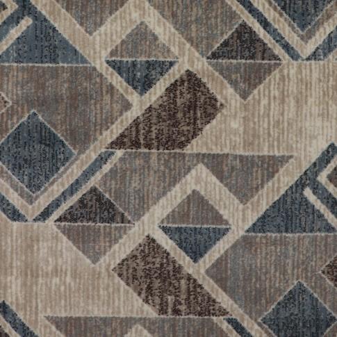 Covor living / dormitor Carpeta Delta 87631-43255 polipropilena heat-set dreptunghiular bej 80 x 150 cm