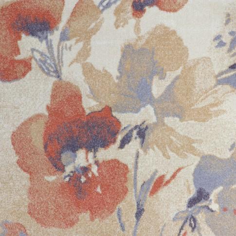 Covor living / dormitor Carpeta Matrix 57881-17933, polipropilena frize, dreptunghiular, coral, 120 x 170 cm