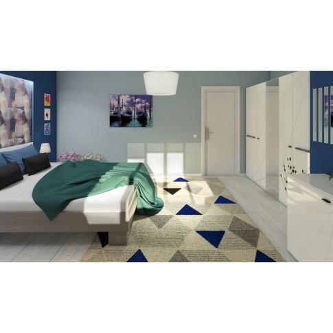 Covor living / dormitor Carpeta Soho 57651-17223, polipropilena frize, dreptunghiular, crem, 160 x 230 cm