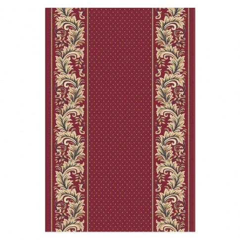 Traversa Carpeta Atlas 34634-41355 polipropilena heat-set rosu 1 metru