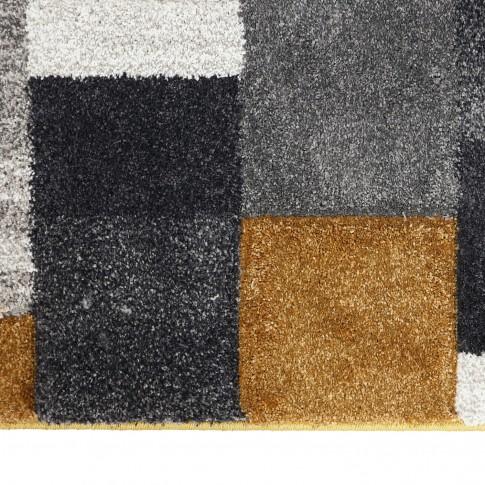 Covor living / dormitor Sintelon Motion 30GKY, polipropilena, dreptunghiular, gri, 120 x 170 cm
