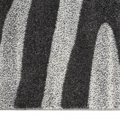 Covor living / dormitor Sintelon Motion 04BWB, polipropilena, dreptunghiular, gri, 80 x 150 cm