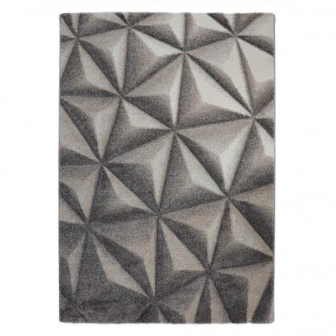Covor living / dormitor Sintelon Motion 33 BVB, polipropilena, dreptughiular, bej, 80 x 150 cm