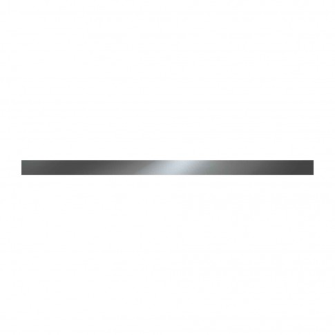 Brau faianta Cesarom, 2505-0121 Platina, gri, 2.5 x 50 cm