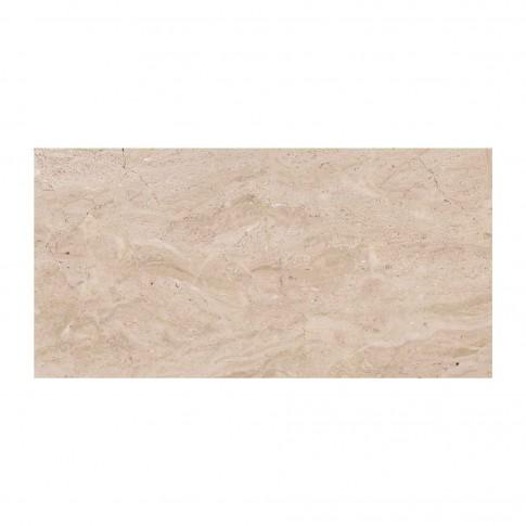 Faianta baie / bucatarie Cesarom, 2051-0181 Sibley, lucioasa, bej, aspect marmura,  25 x 50 cm