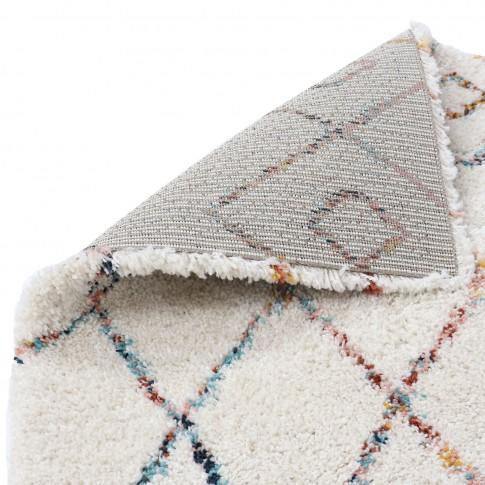 Covor living / dormitor Sherpa 53307-066, polipropilena heat-set, dreptunghiular, crem, 200 x 290 cm