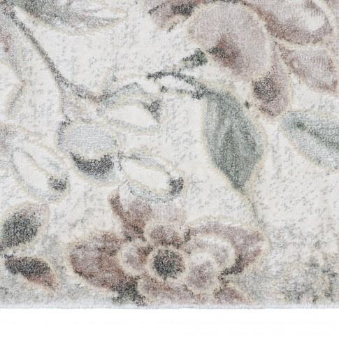 Covor living / dormitor Tundra 59421-641, polipropilena + poliester, dreptunghiular, bej + gri, 200 x 290 cm