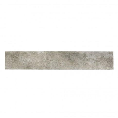 Plinta gresie portelanata Himalaya, imitatie piatra, bej, 8 x 45 cm