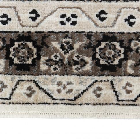 Covor living / dormitor Oriental Weavers Ferrera W 3335/EC9, polipropilena, dreptunghiular, bej + maro, 200 x 285 cm