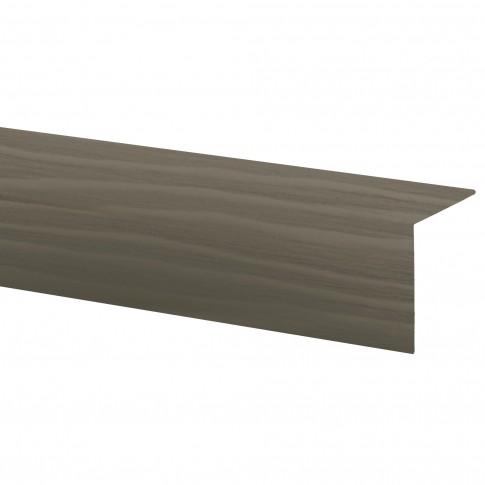 Profil de colt L 32018-3131, PVC, Oliv, 25 x 25 mm, 2.75 m
