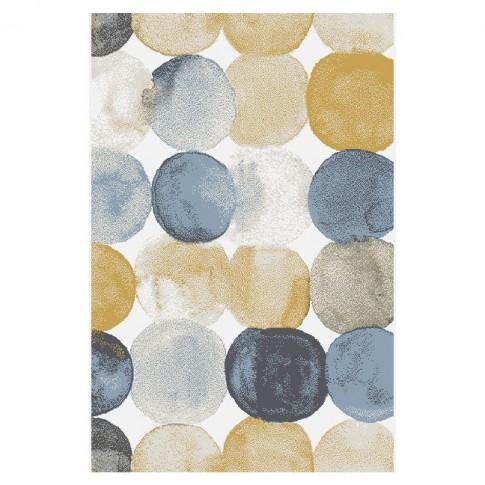 Covor living / dormitor Sintelon Motion 06YKW, polipropilena, dreptunghiular, multicolor, 200 x 290 cm