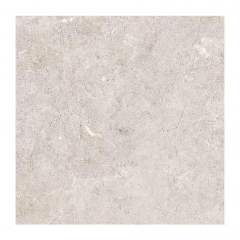 Gresie exterior / interior portelanata Cesarom, 6061-0035 Stonelight, bej, mata, imitatie piatra, antiderapanta, 59 x 59 cm