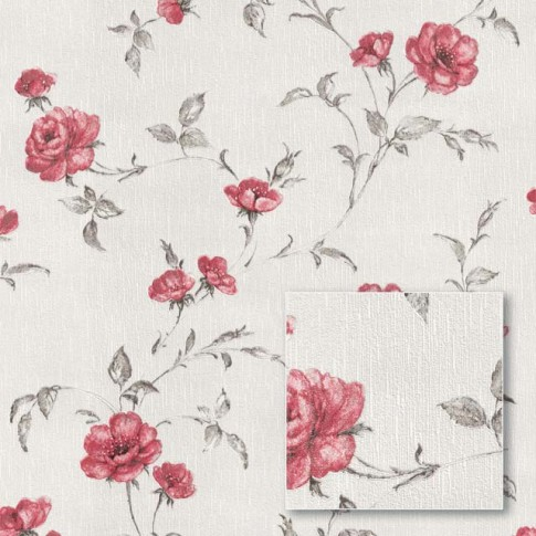 Tapet netesut, model floral, Sintra Summer Garden 429020, 10.05 x 0.53 m