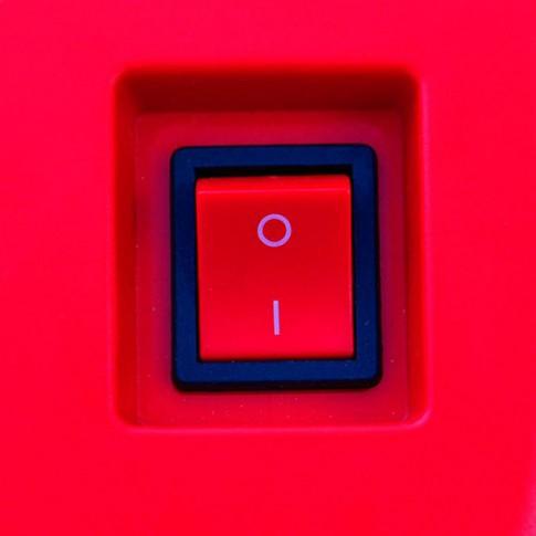 Aspirator pentru cenusa Cenerill, 18 l, 1000 W, filtru Hepa, negru + rosu