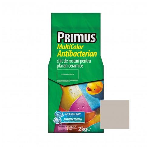 Chit de rosturi gresie si faianta Primus Multicolor Antibacterian B03 papyrus, interior / exterior, 2 kg