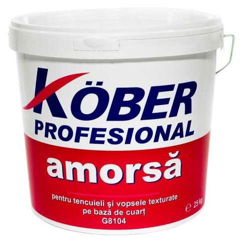 Amorsa perete Kober G8104, interior / exterior, 25 kg