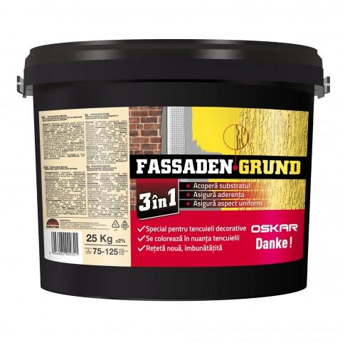 Amorsa pentru tencuieli decorative Oskar Fassaden Grund, interior / exterior, 25 kg