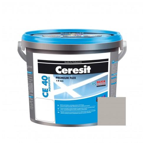 Chit de rosturi gresie si faianta Ceresit CE 40, manhattan, interior / exterior, 2 kg