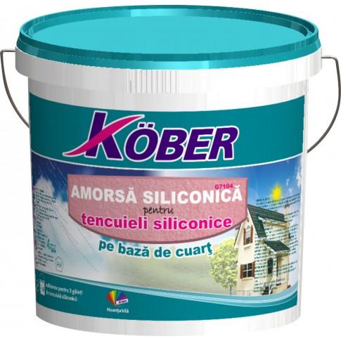 Amorsa siliconica perete Kober GT 104, pe baza de cuart, interior / exterior, 7 kg