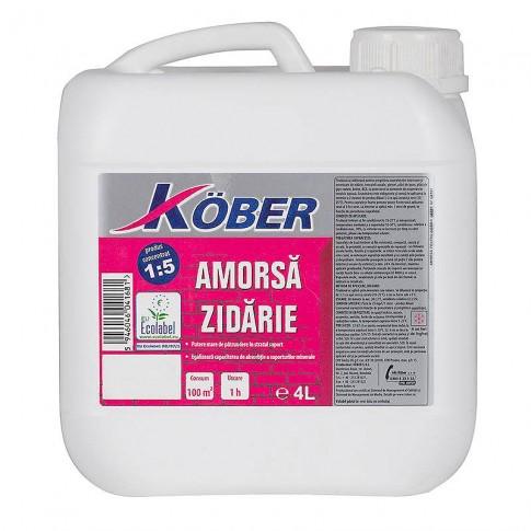 Amorsa zidarie Kober G8101, interior / exterior, 4 L