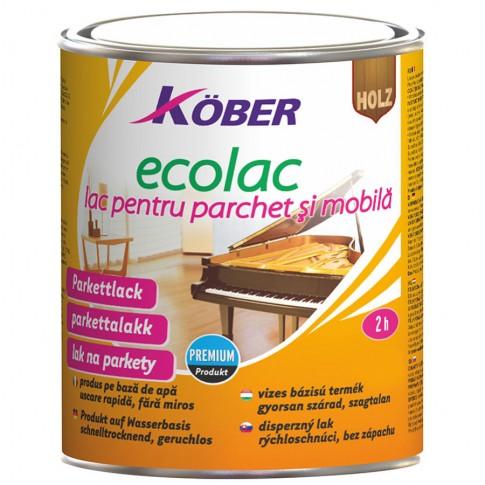Lac pentru parchet Kober Ecolac L 8301, transparent, 4 L