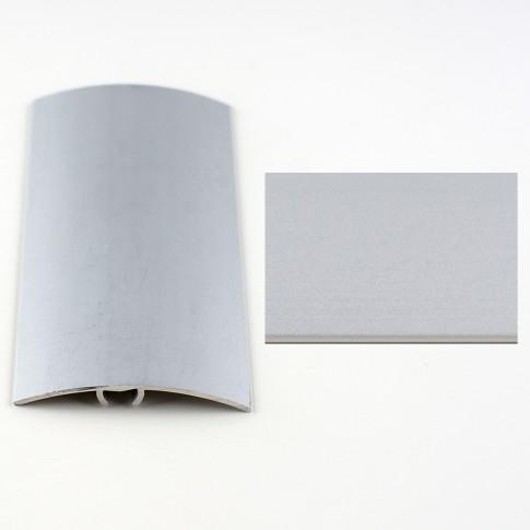 Profil aluminiu de trecere, diferenta de nivel, Davo Pro argintiu, 41 mm, 0.9 m