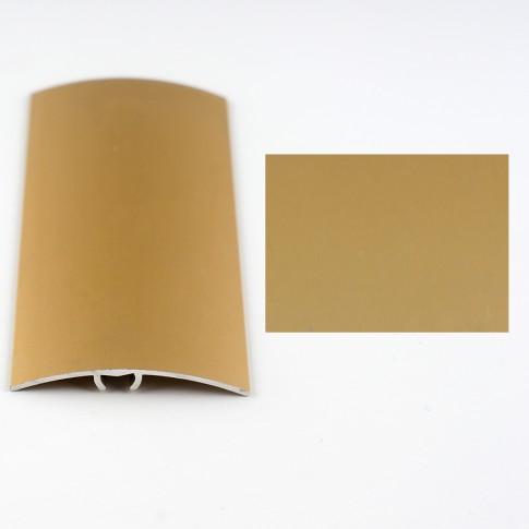 Profil aluminiu de trecere, diferenta de nivel, Davo Pro auriu, 41 mm, 0.9 m