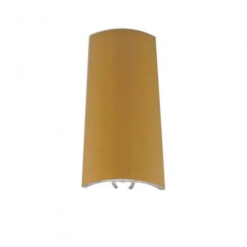 Profil aluminiu de trecere, 3103, diferenta de nivel, Davo Pro auriu, 30 mm, 2.7 m