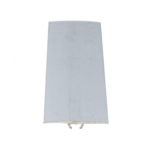 Profil aluminiu de trecere, Davo Pro argintiu 2.7 m