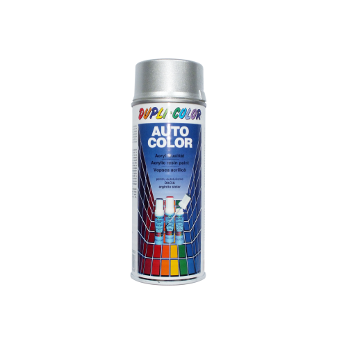 Spray vopsea auto, Dupli-Color, argintiu stelar metalizat, interior / exterior, 350 ml
