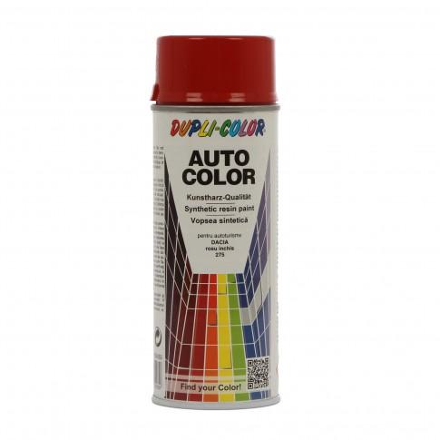 Spray vopsea auto, Dupli-Color, rosu 275, interior / exterior, 350 ml