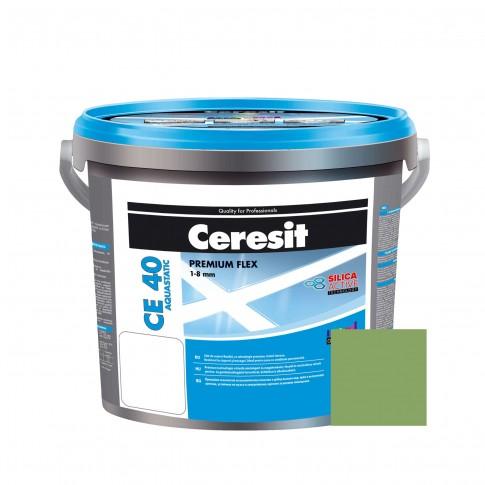 Chit de rosturi gresie si faianta Ceresit CE 40, vernil mint 64, interior / exterior, 5 kg