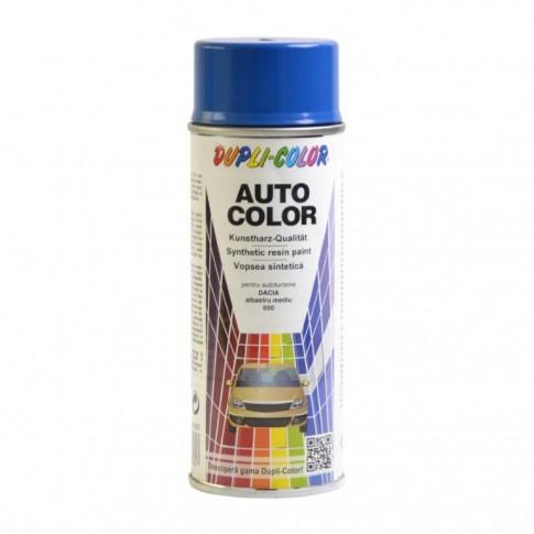 Spray vopsea auto, Dupli-Color, albastru mediu, interior / exterior, 350 ml