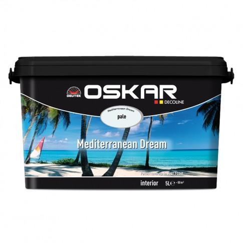 Vopsea lavabila interior, Oskar Coloris Mediterranean Dream pale, 5 L