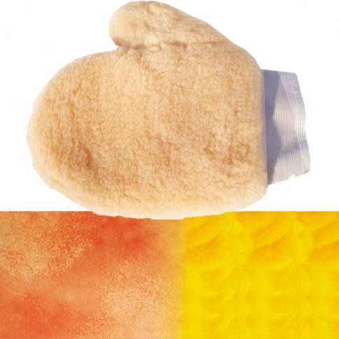 Manusa pentru zugravit Lumytools LT 09856, blana oaie, 25 cm