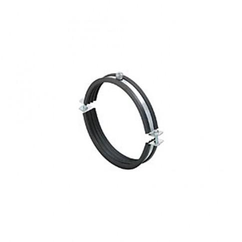 Colier metalic pentru tevi, cu garnitura de cauciuc, 200 mm