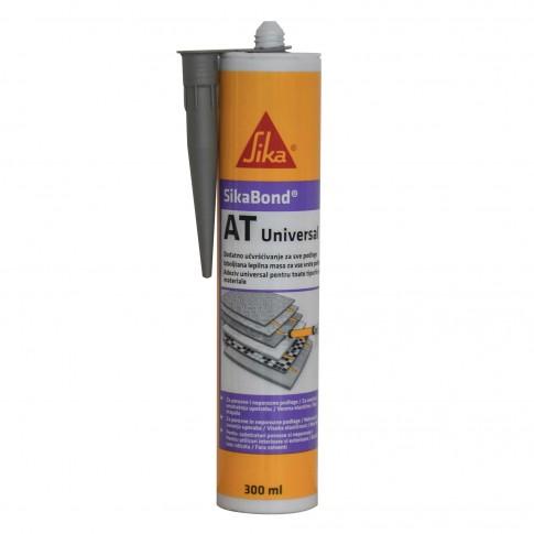 Adeziv pentru suprafete multiple, interior / exterior, Sika SikaBond AT Universal, gri, 300 ml
