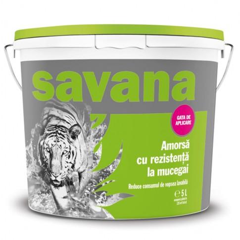 Amorsa perete Savana Antimucegai, interior / exterior, 5 L