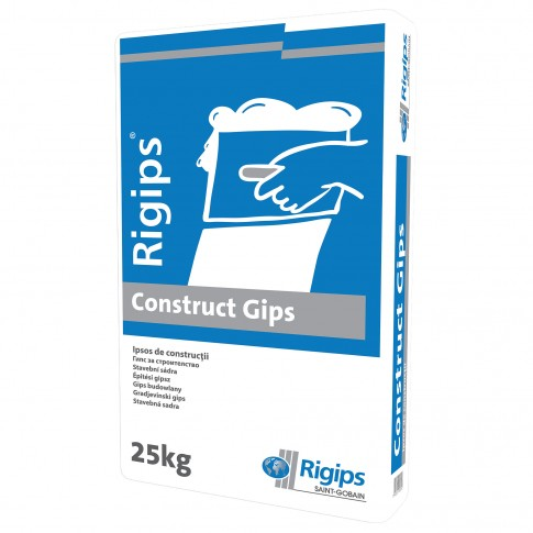 Ipsos de constructii Rigips Construct Gips, interior, 25 kg