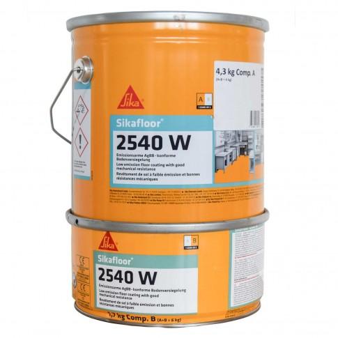 Rasina epoxidica, bicomponenta, pe baza de apa, Sika Sikafloor - 2540W, 7035, 6 kg