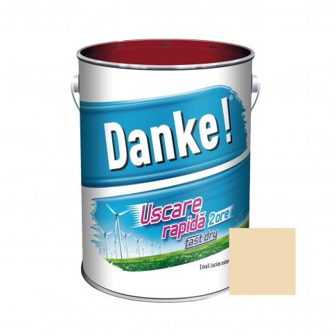 Vopsea alchidica pentru lemn / metal, Danke, exterior, crem, 4 L