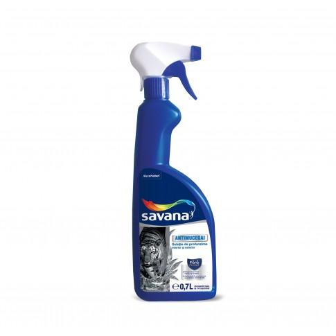 Solutie antimucegai Savana, pulverizator, interior / exterior, 0.7 L