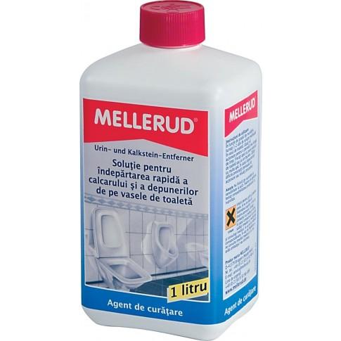 Solutie de curatat calcarul, pentru toaleta, Mellerud, 1 L