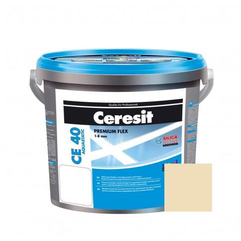 Chit de rosturi gresie si faianta Ceresit CE 40, melba, interior / exterior, 5 kg