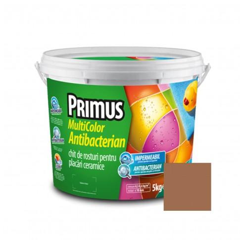 Chit de rosturi gresie si faianta Primus Multicolor Antibacterian B15 amber gold, interior / exterior, 5 kg