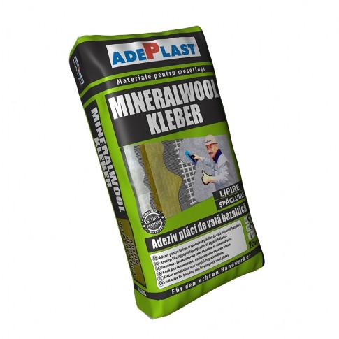 Adeziv pentru vata minerala Adeplast Mineralwool Kleber, interior / exterior, 25 kg