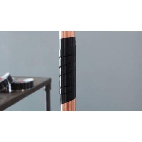 Banda pentru reparatii, din silicon, negru, tesa 4600, 2.5 cm x 3 m