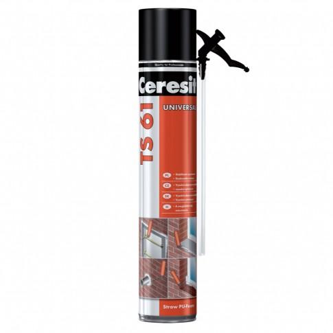 Spuma Poliuretanica pentru montaj, cu aplicare manuala, Ceresit TS 61, 300 ml