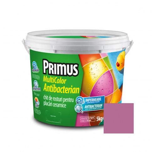 Chit de rosturi gresie si faianta Primus Multicolor Antibacterian B32 purple, interior / exterior, 5 kg